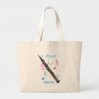 I Play Oboe Jumbo Tote Bag