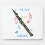 I Play Oboe Mouse Mats