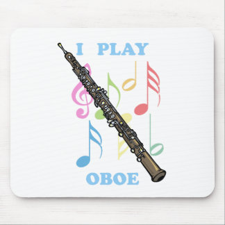 I Play Oboe Mouse Pad