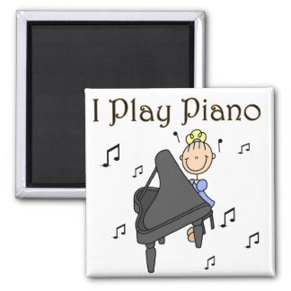 I Play Piano Magnet Magnets