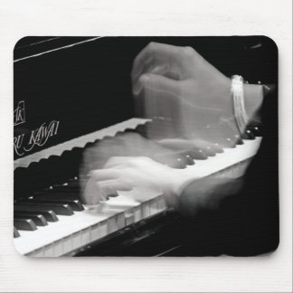 I Play Piano Mouse Pad