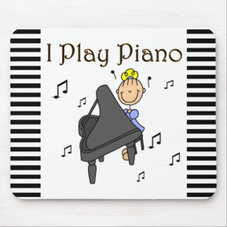 I Play Piano T-shirts and Gifts Mouse Pad