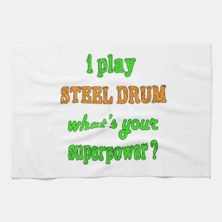 I Play Steel Drum Kitchen Towel