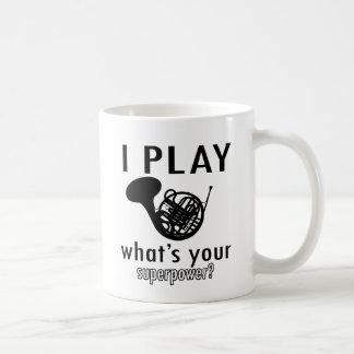 I play the French Horn Coffee Mug