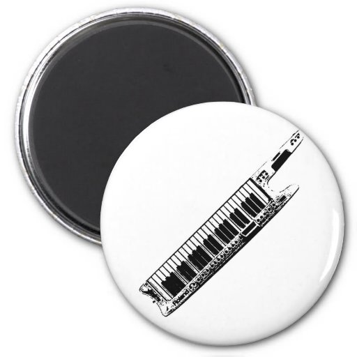I Play the Keytar Magnets
