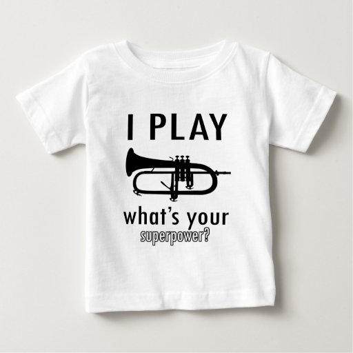 I play the trumpet baby T-Shirt