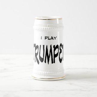 I play TRUMPET 18 Oz Beer Stein