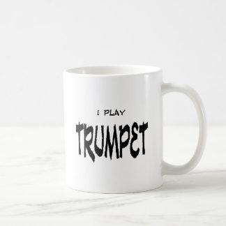 I play TRUMPET Classic White Coffee Mug