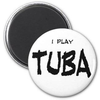I Play Tuba Magnet