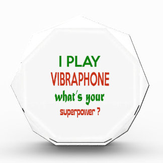 I play Vibraphone what's your superpower ? Award
