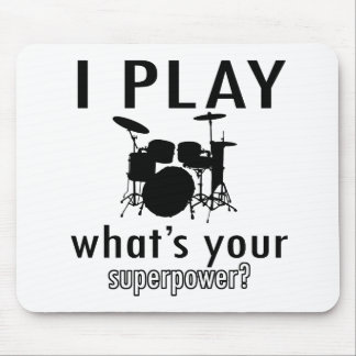 I play what's your superpower mouse pad