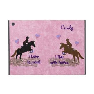 I Play with Ponies iPad Mini Cover