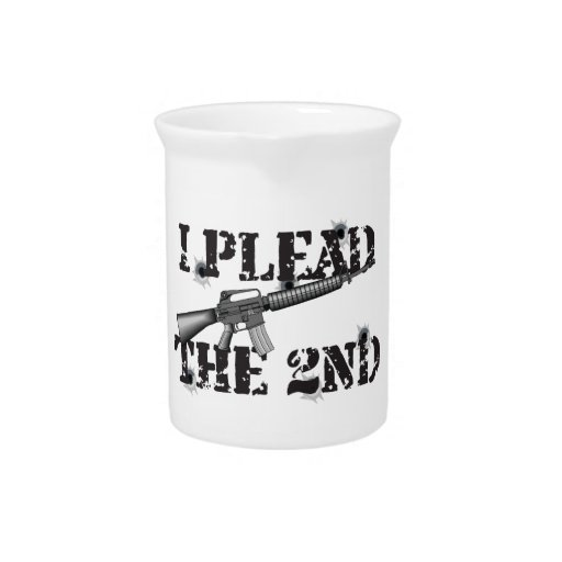 I plead the 2nd drink pitcher