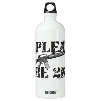 I plead the 2nd SIGG traveler 1.0L water bottle