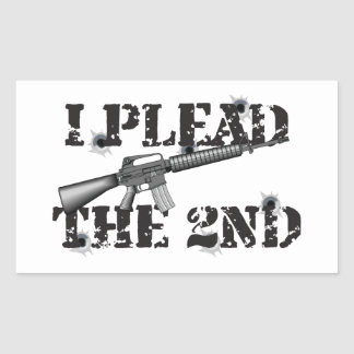 I plead the 2nd stickers
