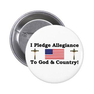 I Pledge Allegiance Buttons