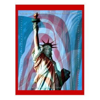 I Pledge Allegiance Postcard