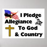I Pledge Allegiance Posters