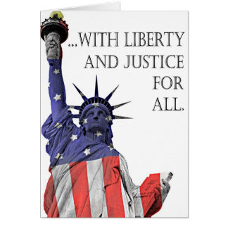 I PLEDGE ALLEGIANCE TO THE FLAG CARDS
