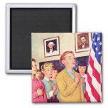 I Pledge Allegiance To the Flag Fridge Magnet