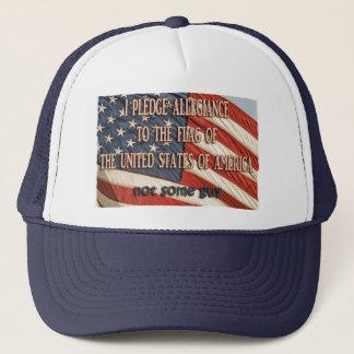 I Pledge Allegiance Trucker Hat