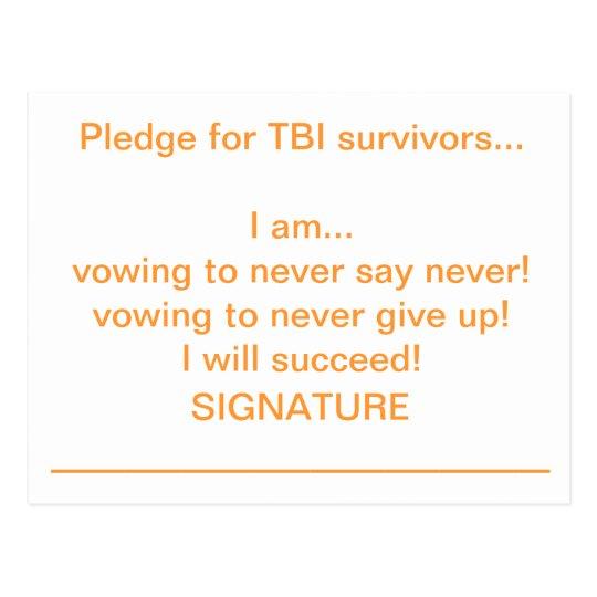 I Pledge... Postcard