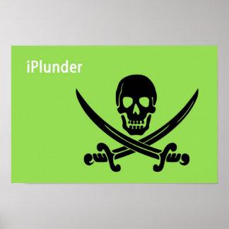 I Plunder Poster