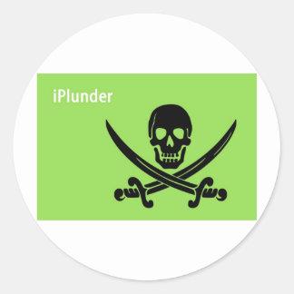 I Plunder Sticker
