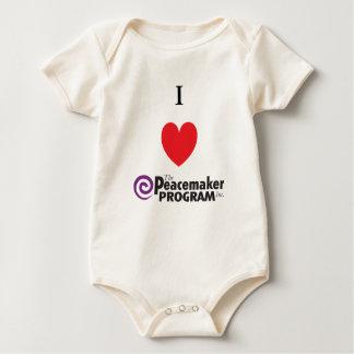 I PMP del corazón para el bebé Mamelucos De Bebé