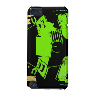 I-Pod Touch 5G~ City Car-Graffiti Green iPod Touch (5th Generation) Cover