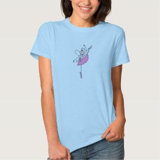 I Pointe Stick Figure Ballerina Shirt