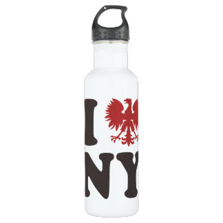 I Polish Eagle New York Water Bottle
