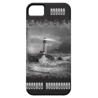 I ponecase with Yaquina Lighthouse painting iPhone SE/5/5s Case