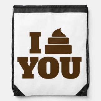 I poop you cinch bags