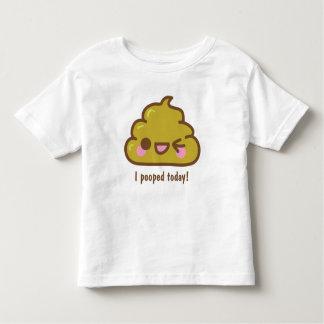¡i POOPED HOY! Camiseta divertida Remera