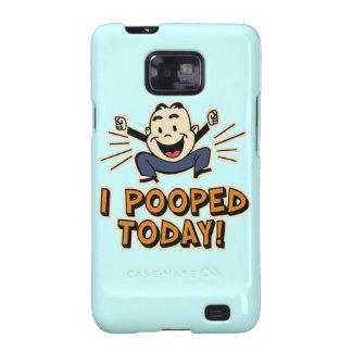 ¡I Pooped hoy! Galaxy S2 Fundas