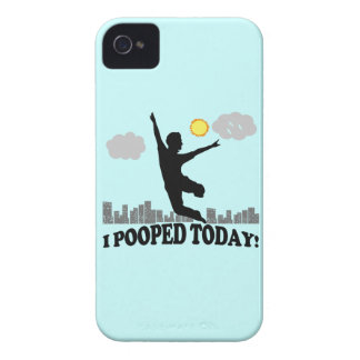 I Pooped hoy iPhone 4 Case-Mate Funda