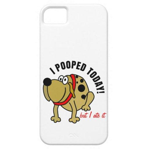 I Pooped hoy iPhone 5 Case-Mate Fundas