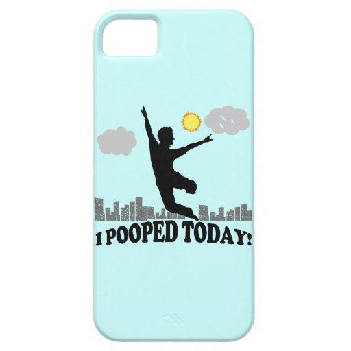 I Pooped hoy iPhone 5 Funda
