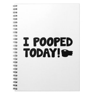 ¡I Pooped hoy! Note Book
