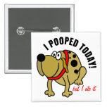 I Pooped hoy Pins