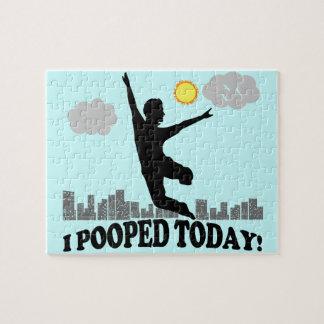 I Pooped hoy Rompecabezas Con Fotos