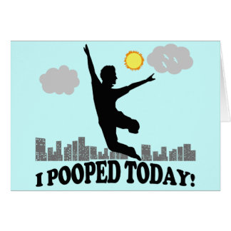 I Pooped hoy Tarjetón