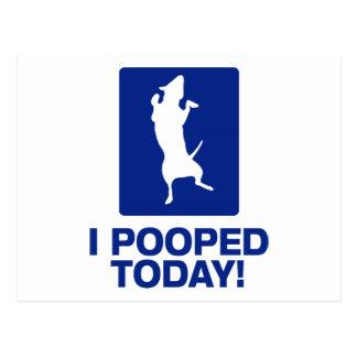 ¡I Pooped hoy! Postales