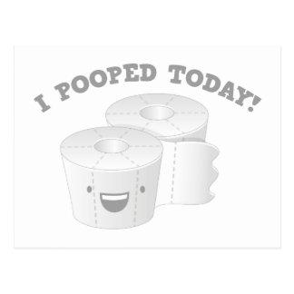 ¡I Pooped hoy! Postal