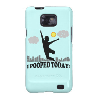I Pooped Today Galaxy S2 Cover