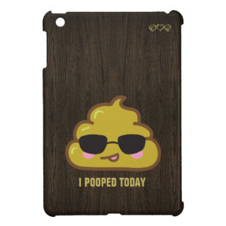 i pooped today - featuring cool poo iPad mini case