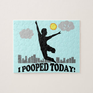 I Pooped Today Jigsaw Puzzle