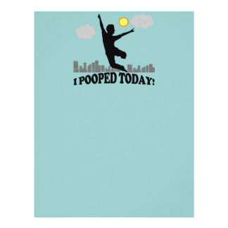 I Pooped Today Letterhead