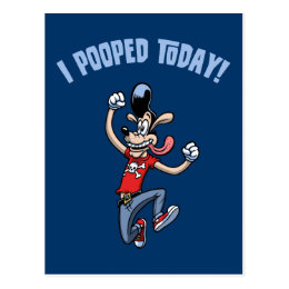 I Pooped Today! Postcard